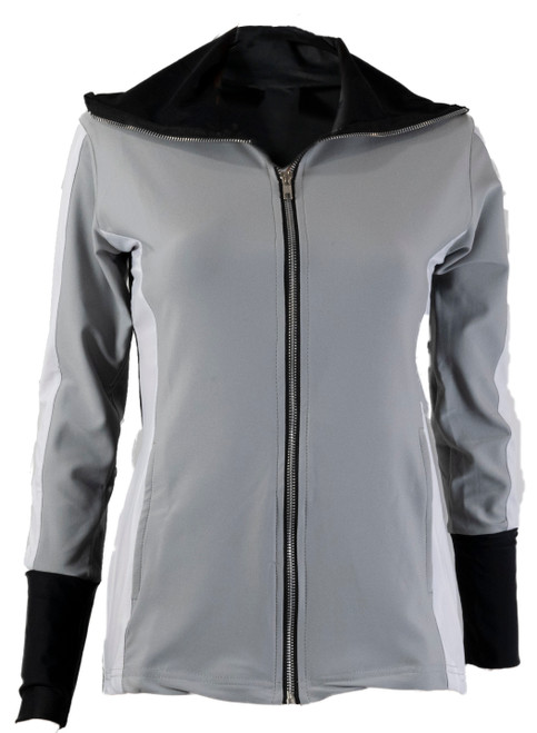 The Allure Track Jacket Grey
