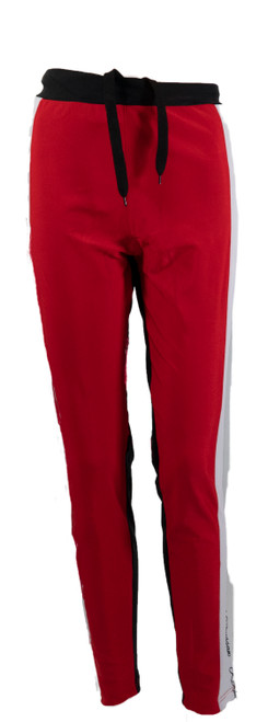 The Allure Track Pants  Red