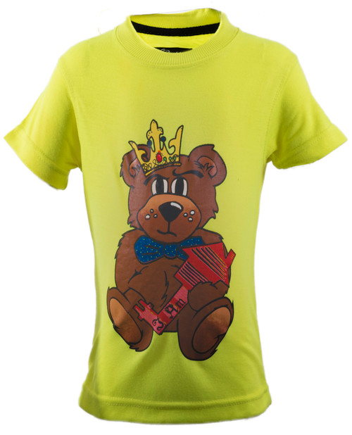 The Teddy Tee  Lime