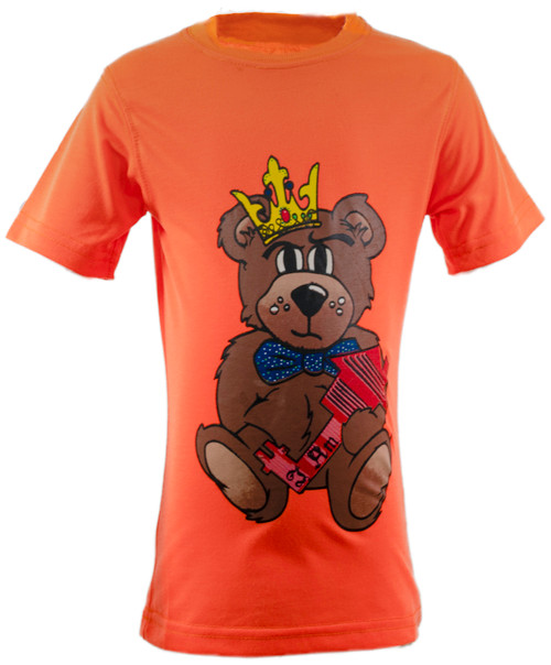 The Teddy Tee  Orange