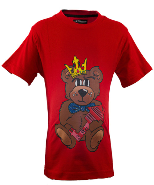 The Teddy Tee  Red