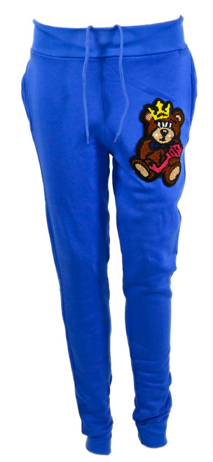 The Teddy Logo Joggers Blue