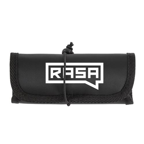Rasa Logo Electronic Tech Organizer Roll-up