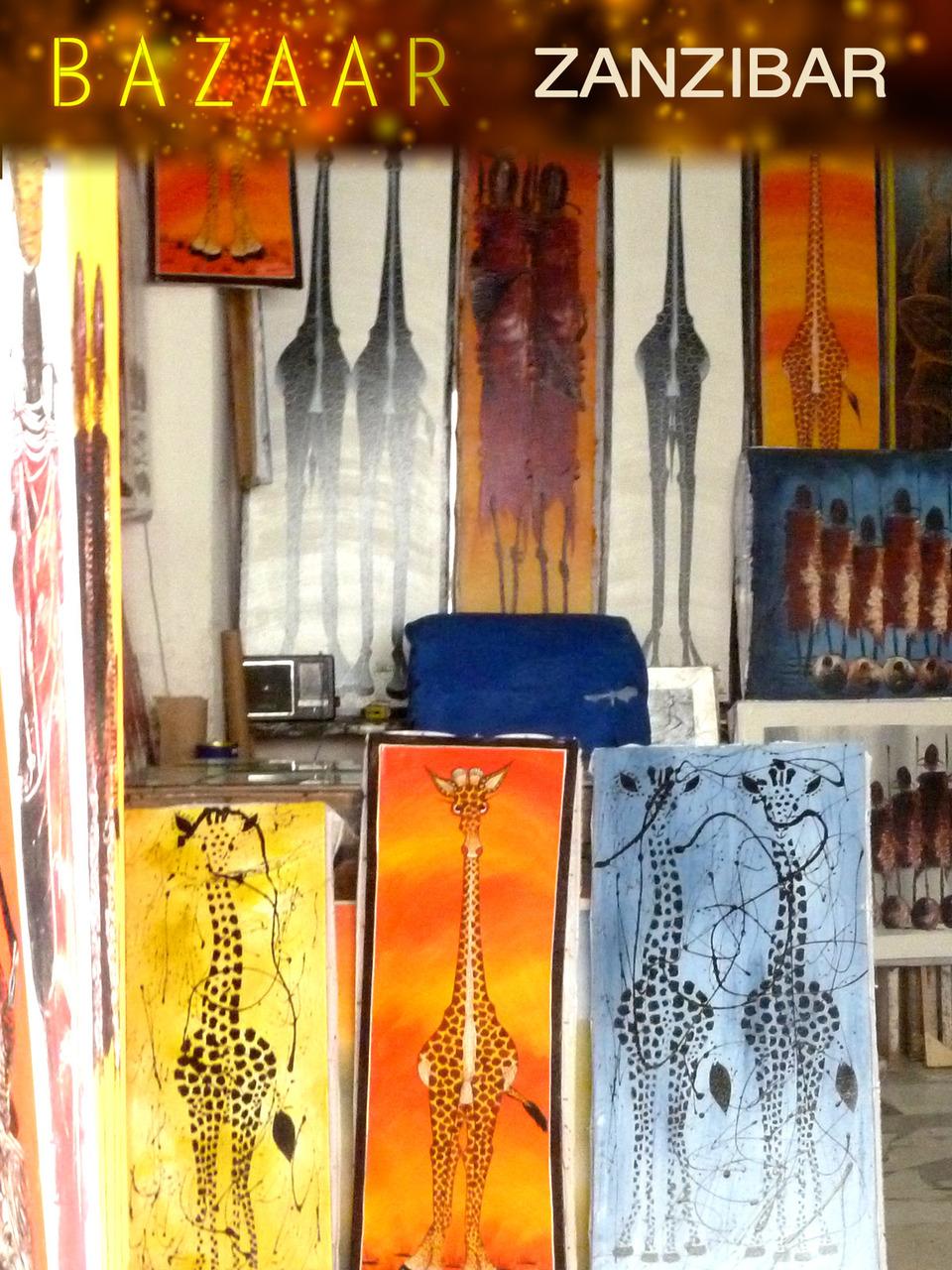 Bazaar Zanzibar (Digital Download)