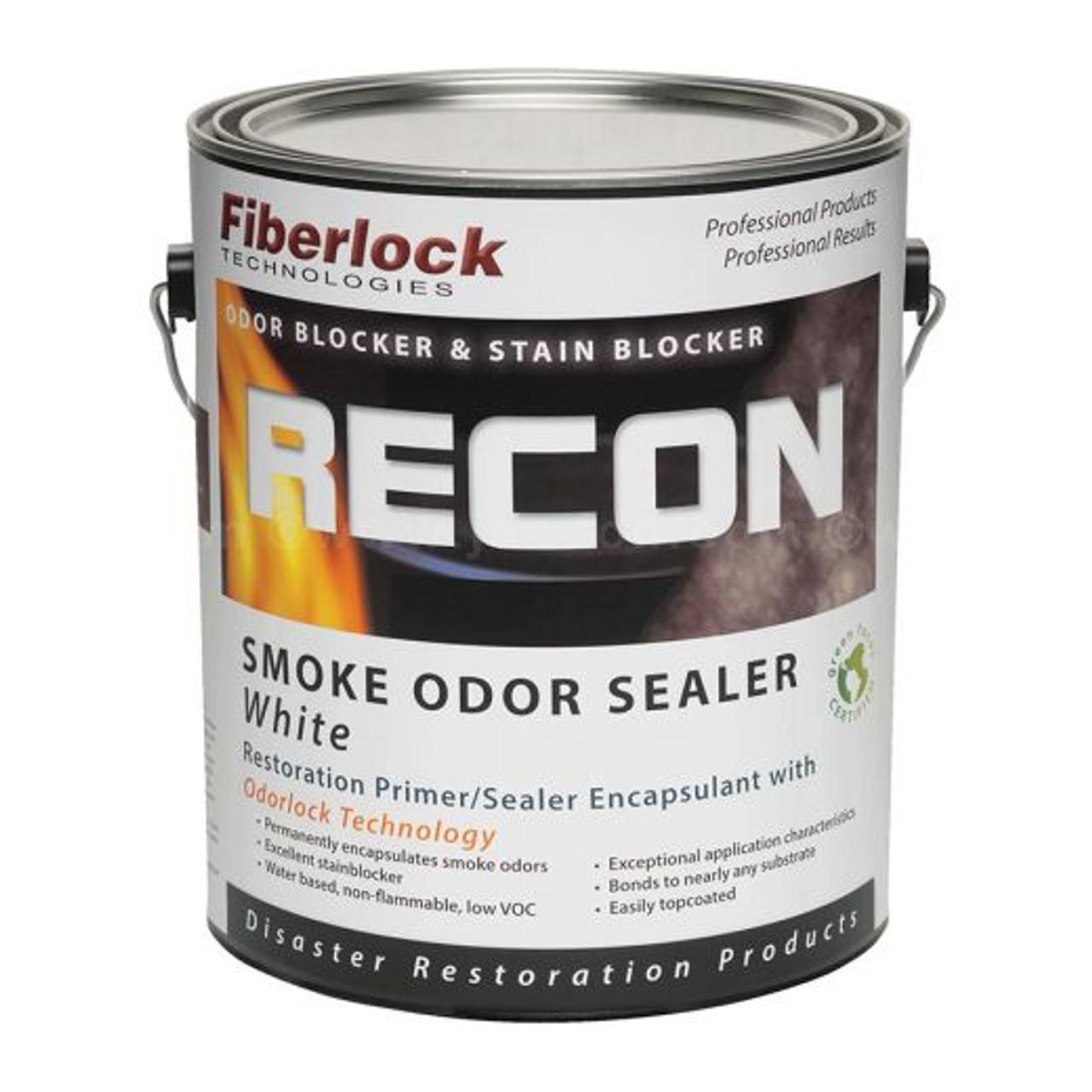 Fiberlock RECON Smoke Odor Sealer, White (1 GL)