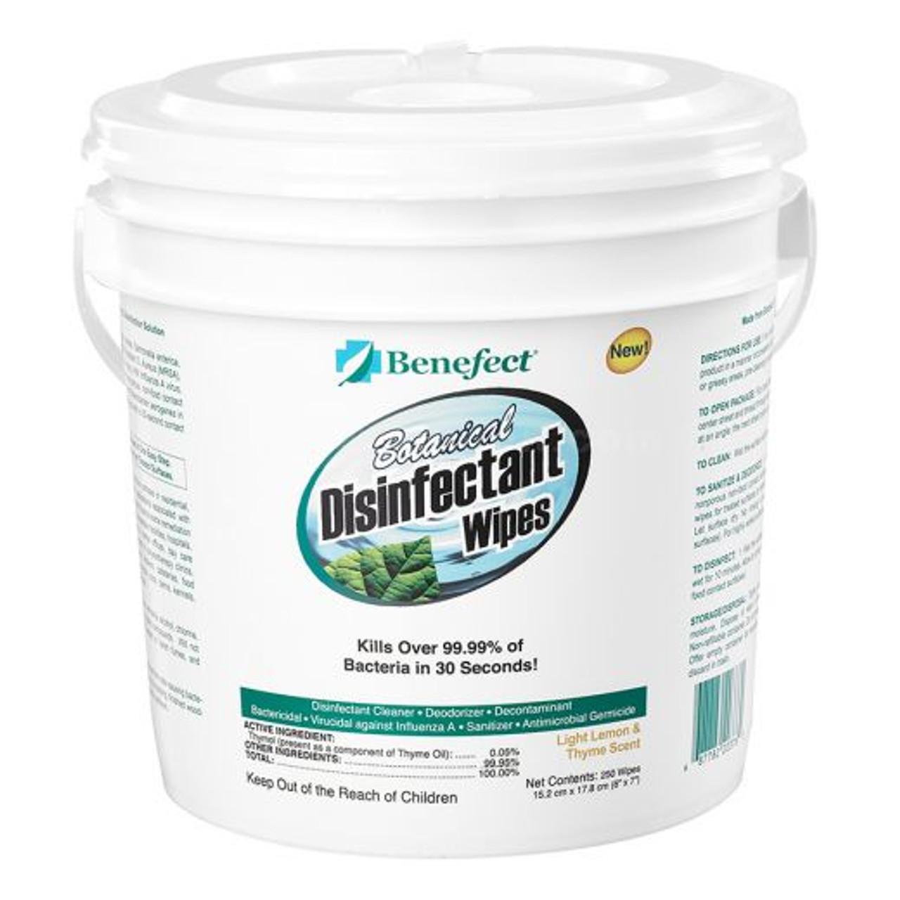 Benefect Botanical Disinfectant Wipes