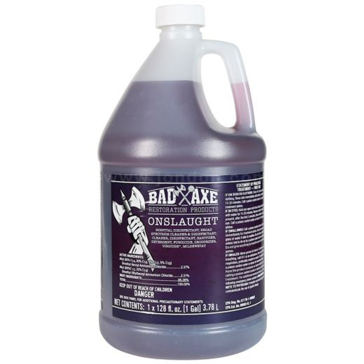 Bad Axe ONSLAUGHT Quaternary Disinfectant