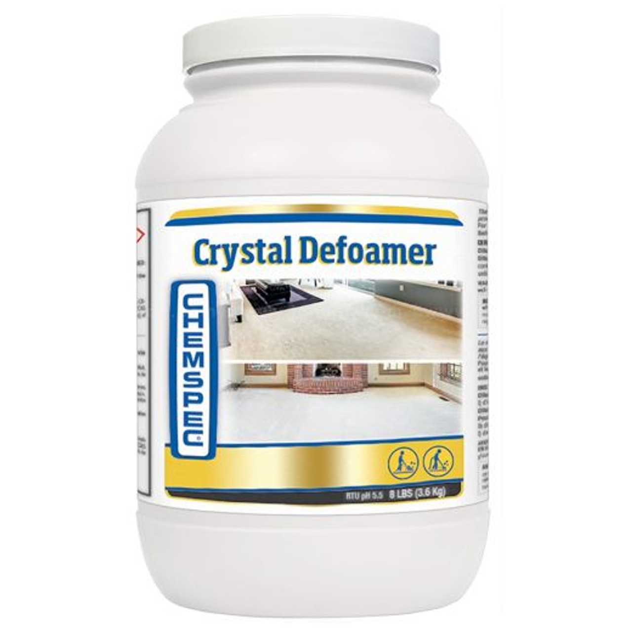 Crystal Defoamer Chemspec 8 lbs CASE of 4 ea