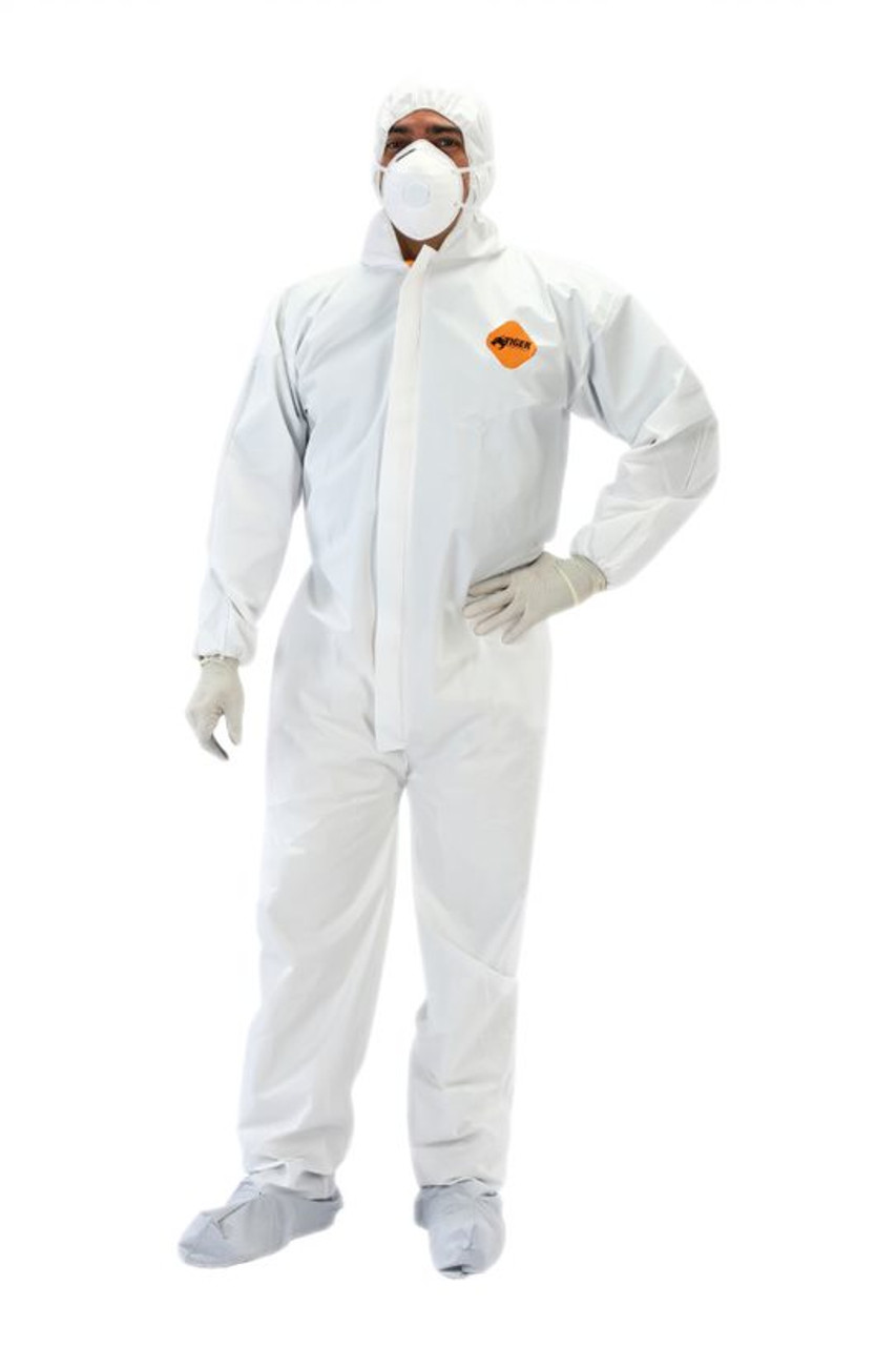 Tiger Disposable Coverall XXLarge