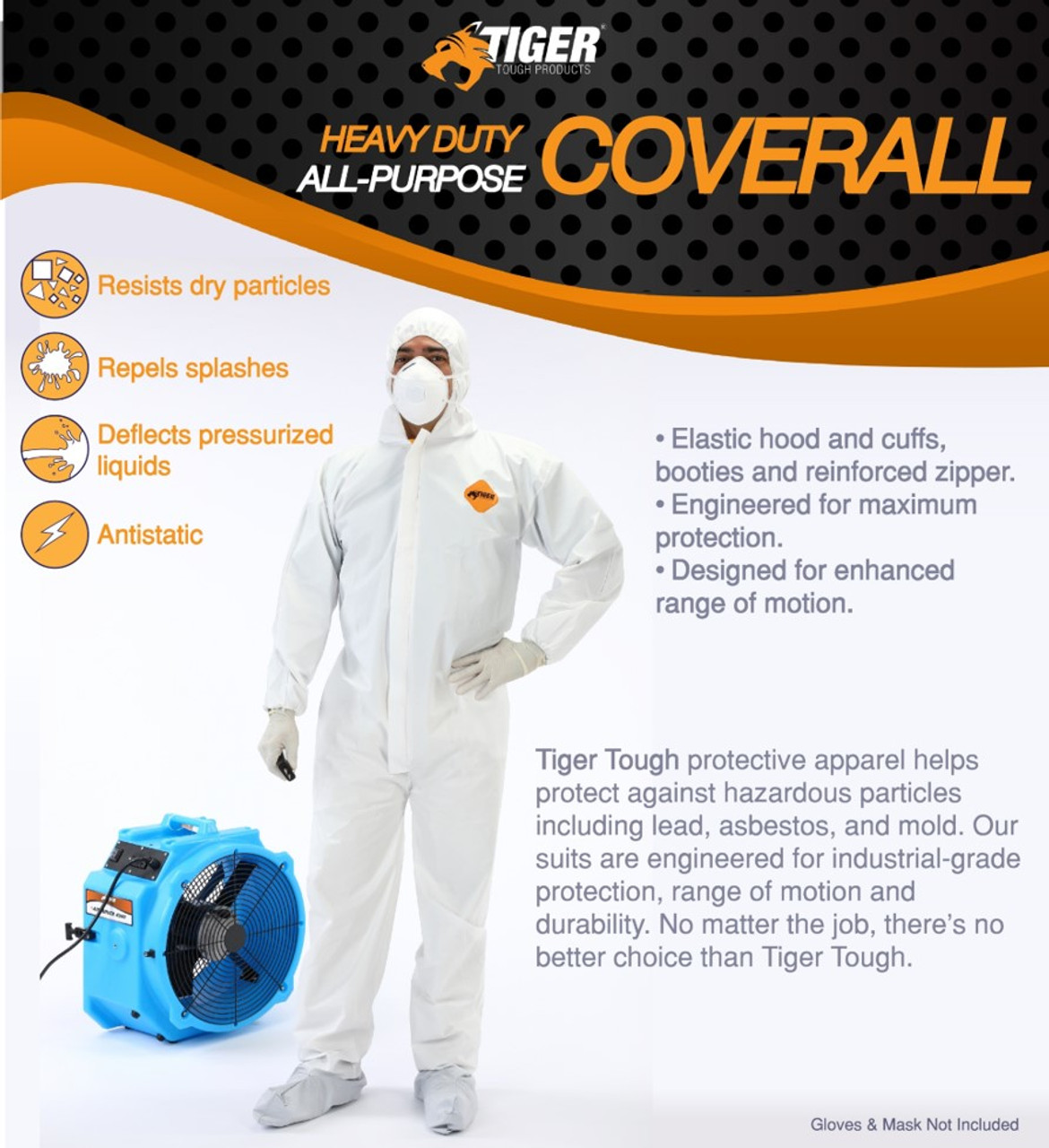 Tiger Tough Heavy Duty All Purpose Coverall