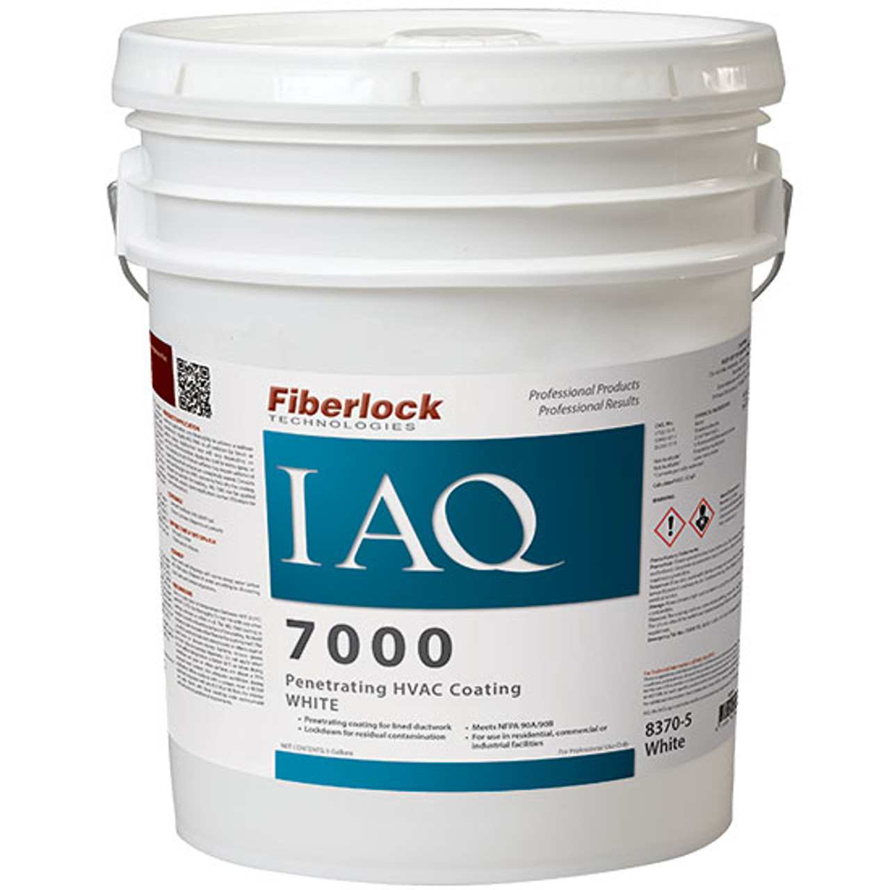 Fiberlock IAQ 7000 Penetrating HVAC Sealant, Coating/Encapsulant (5 GL)