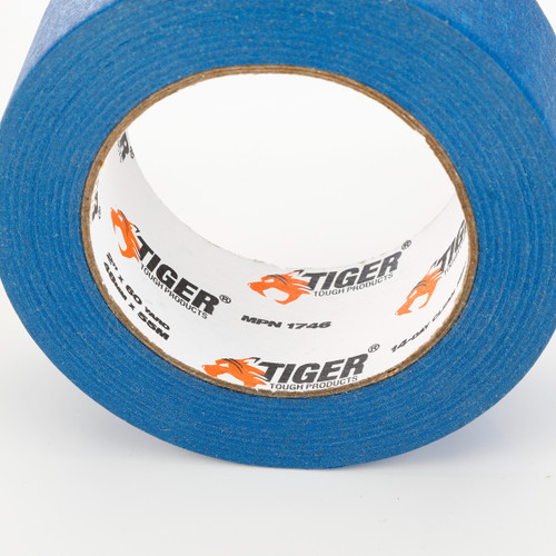Tiger Tough Professional Multi-Use Blue Painter's Tape, 3 Inches x 60 Yards, 6-Pack