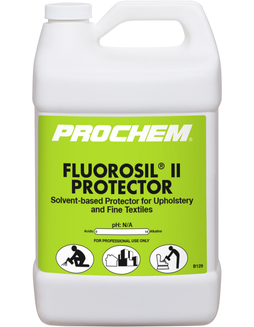 Fluorosil II Fine fabric protectant CASE of 4 Gal.