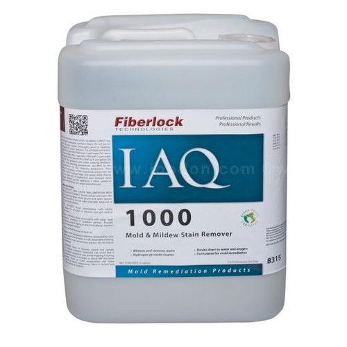 Fiberlock IAQ 1000 Mold and Mildew Stain Remover Cleaner (5 GL)