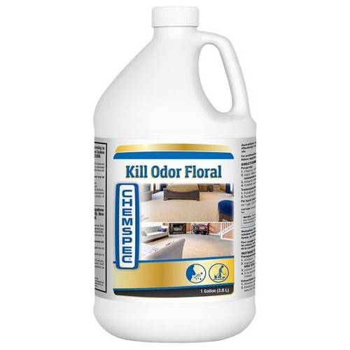 Chemspec Kill Odor, Floral CASE of 4 Gal.