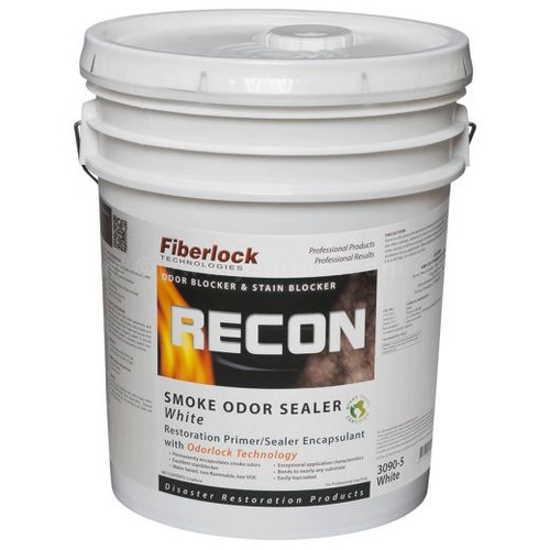 Fiberlock RECON Smoke Odor Sealer, White (5 GL)