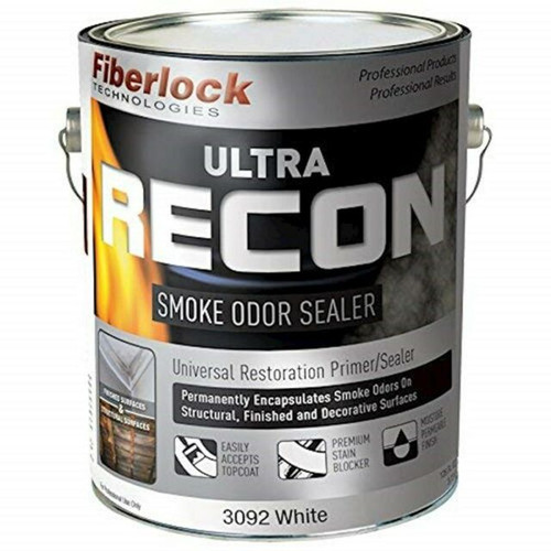 Fiberlock ULTRA RECON SmokeOdorSealer CASE of 4 gal