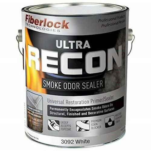 Fiberlock ULTRA RECON SmokeOdorSealer CASE of 4 gal