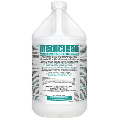 MediClean  Germicidal Cleaner Concentrate (formerly Microban  ) Lemon Scent CASE of 4 gal