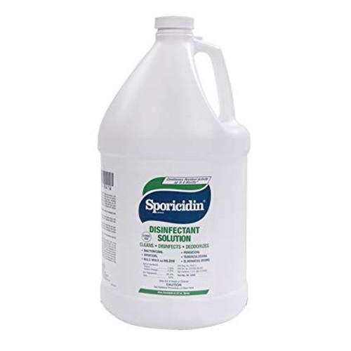 Sporicidin Disinfectant Sol CASE of 4 Gal