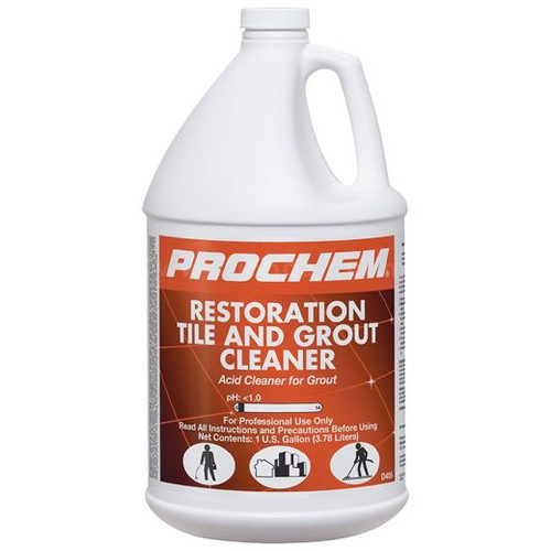 Tile & Grout Cleaner Acidic CASE of 4 Gal.