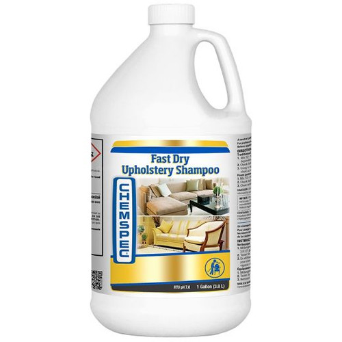 Chemspec Fast Dry Upholstery Shampoo CASE of 4 gal.