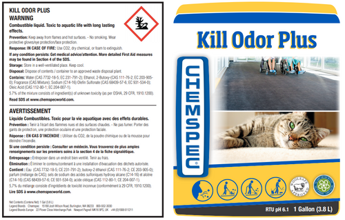 Chemspec Kill Odor Plus