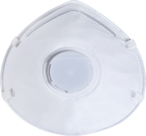 Particulate Respirator with BREATHE CLEAN Valve N95 NIOSH Approved Box of 10