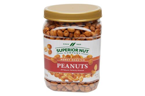 Honey Roasted Peanuts, 32oz Jar