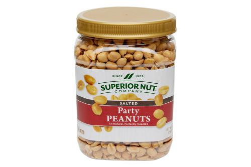 Salted Party Peanuts, 32oz Jar