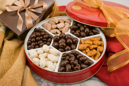 Supreme Assortment of Nuts Gift Tin