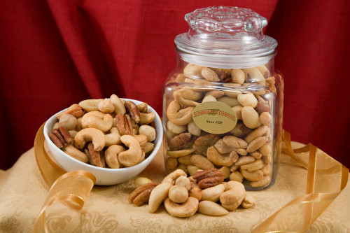 Superior Mixed Nuts - 24oz Decanter (Salted)