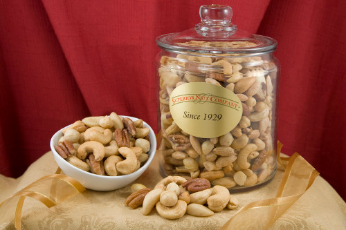 Superior Mixed Nuts - 5.5 Pound Jar (Salted)
