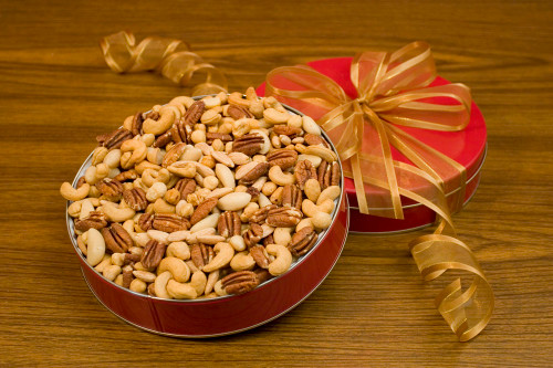 32oz Superior Mixed Nuts Gift Tin (Salted)