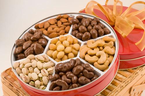 Executive Assortment of Nuts Tin (Sugar Free)