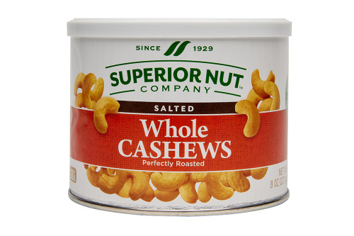 Superior Nut Company Roasted & Salted Whole Cashews