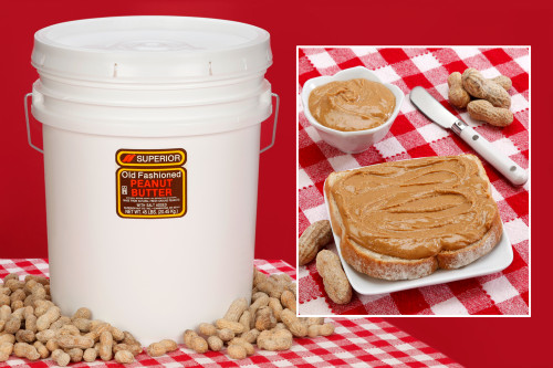 Smooth Peanut Butter 45 LBS (Salted)