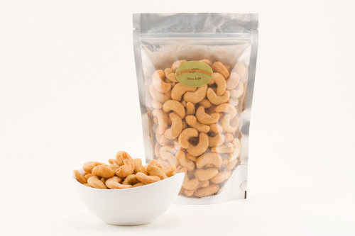 Roasted Large Whole Cashews (Salted)
