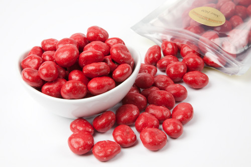 Red Chocolate Covered Cherries