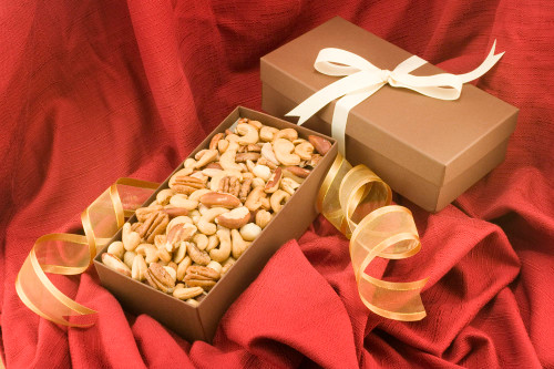 Superior Mixed Nuts Gift Box (Salted)