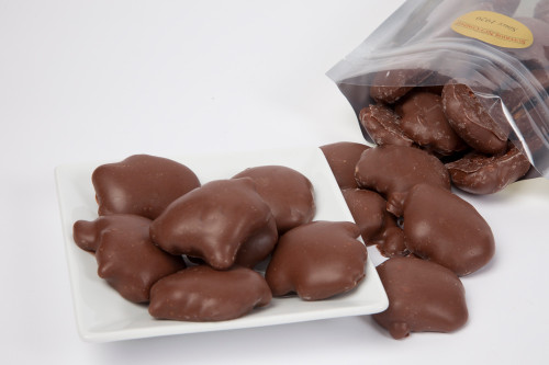 Milk Chocolate Cashew Caramel Turtles