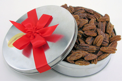 Honey Roasted Pecans Gift Tin