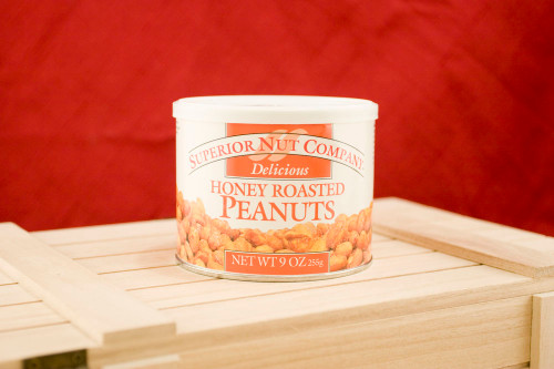 Honey Roasted Peanuts, 9oz cans (Pack of 3)