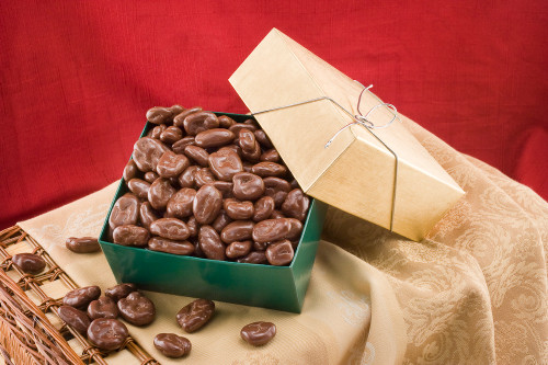 Milk Chocolate Covered Pecans Gift Box