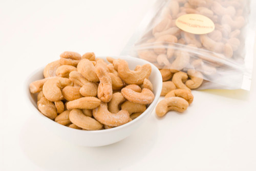 Roasted Giant Whole Cashews (Salted)