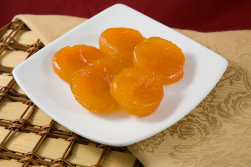 Superior Glazed Apricots