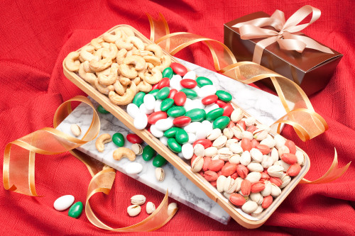 Holiday Cheer trio Gift Tray