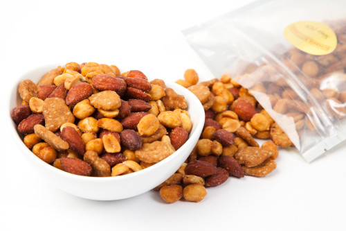 Honey Roasted Crunchy Snack Mix