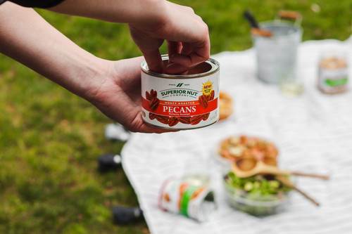 Superior Nut Honey Roasted Pecans Outdoors