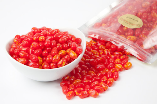 Sizzling Cinnamon Jelly Beans - Red
